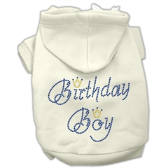Mirage Pet Products Birthday Boy Hoodies Cream XL (16)