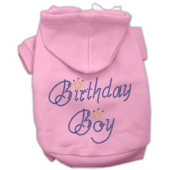 Mirage Pet Products Birthday Boy Hoodies Pink XL (16)