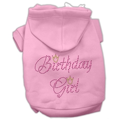 Mirage Pet Products Birthday Girl Hoodies Pink S (10)