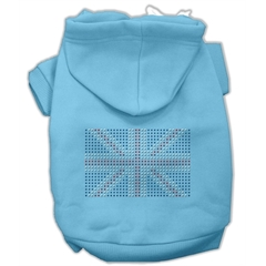 Mirage Pet Products British Flag Hoodies Baby Blue XXL (18)