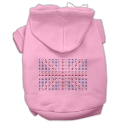 Mirage Pet Products British Flag Hoodies Pink XL (16)