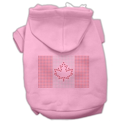 Mirage Pet Products Canadian Flag Hoodies Pink S (10)