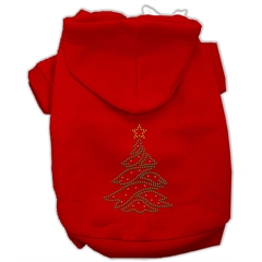 Mirage Pet Products Christmas Tree Hoodie Red XL (16)