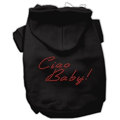 Mirage Pet Products Ciao Baby Hoodies Black XXL (18)