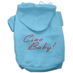 Mirage Pet Products Ciao Baby Hoodies Baby Blue XL (16)