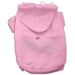 Mirage Pet Products Dear Santa I Can Explain Hoodies Pink S (10)