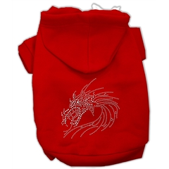Mirage Pet Products Studded Dragon Hoodies Red XL (16)