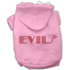 Mirage Pet Products Evil Hoodies Pink XXXL(20)