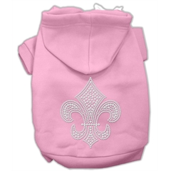 Mirage Pet Products Fleur de lis Hoodies Pink XXL (18)