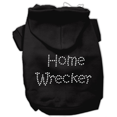 Mirage Pet Products Home Wrecker Hoodies Black XXXL(20)