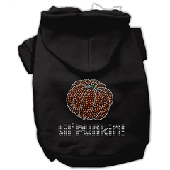 Mirage Pet Products Lil' Punkin' Hoodies Black XXL (18)