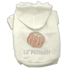 Mirage Pet Products Lil' Punkin' Hoodies Cream S (10)