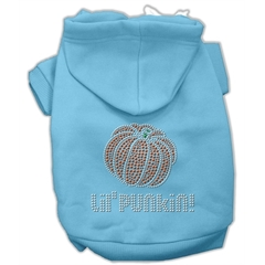 Mirage Pet Products Lil' Punkin' Hoodies Baby Blue M (12)