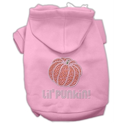 Mirage Pet Products Lil' Punkin' Hoodies Pink L (14)