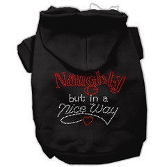 Mirage Pet Products Naughty But Nice Hoodies Black L (14)