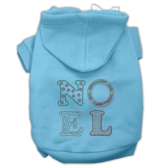 Mirage Pet Products Noel Rhinestone Hoodies Baby Blue XXL (18)