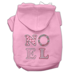 Mirage Pet Products Noel Rhinestone Hoodies Pink XS (8)