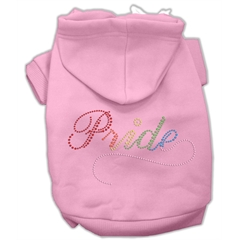 Mirage Pet Products Rainbow Colored Pride Hoodies Pink M (12)