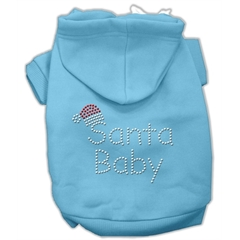 Mirage Pet Products Santa Baby Hoodies Baby Blue XL (16)