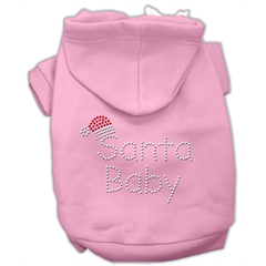 Mirage Pet Products Santa Baby Hoodies Pink L (14)