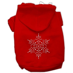 Mirage Pet Products Snowflake Hoodies Red XXXL(20)