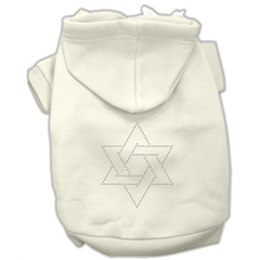 Mirage Pet Products Star of David Hoodies Cream L (14)