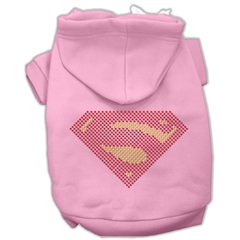 Mirage Pet Products Super! Rhinestone Hoodies Pink XS (8)