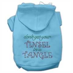 Mirage Pet Products Tinsel in a Tangle Rhinestone Hoodies Baby Blue M (12)
