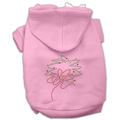 Mirage Pet Products Christmas Wreath Hoodie Pink XS (8)