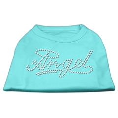 Mirage Pet Products Angel Rhinestud Shirt Aqua XL (16)