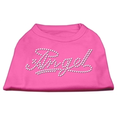 Mirage Pet Products Angel Rhinestud Shirt Bright Pink XXL (18)