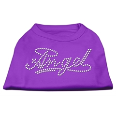 Mirage Pet Products Angel Rhinestud Shirt Purple XS (8)