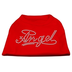 Mirage Pet Products Angel Rhinestud Shirt Red XL (16)