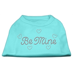 Mirage Pet Products Be Mine Rhinestone Shirts Aqua XL (16)