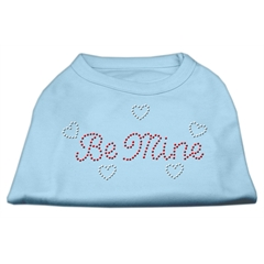 Mirage Pet Products Be Mine Rhinestone Shirts Baby Blue M (12)