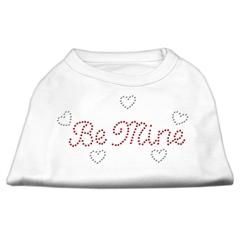 Mirage Pet Products Be Mine Rhinestone Shirts White XXL (18)