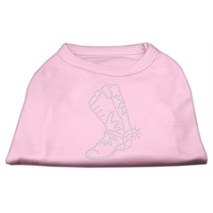 Mirage Pet Products Rhinestone Boot Shirts Light Pink XS (8)