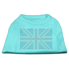 Mirage Pet Products British Flag Shirts Aqua XS (8)