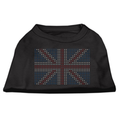 Mirage Pet Products British Flag Shirts Black XS (8)