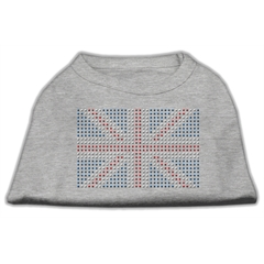 Mirage Pet Products British Flag Shirts Grey L (14)