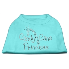 Mirage Pet Products Candy Cane Princess Shirt Aqua M (12)