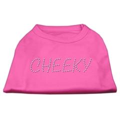 Mirage Pet Products Cheeky Rhinestone Shirt Bright Pink XS (8)