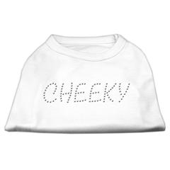 Mirage Pet Products Cheeky Rhinestone Shirt White XS (8)