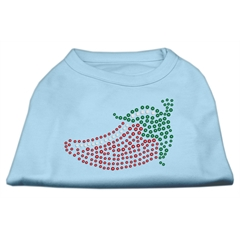 Mirage Pet Products Rhinestone Chili Pepper Shirts Baby Blue M (12)