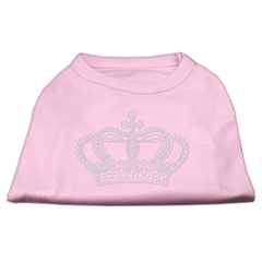 Mirage Pet Products Rhinestone Crown Shirts Light Pink S (10)