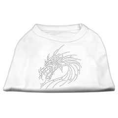 Mirage Pet Products Studded Dragon Shirts White XXXL(20)
