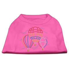 Mirage Pet Products Hot Air Balloon Rhinestone Shirts Bright Pink XXL (18)