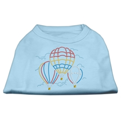 Mirage Pet Products Hot Air Balloon Rhinestone Shirts Baby Blue XXL (18)