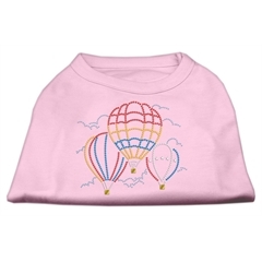Mirage Pet Products Hot Air Balloon Rhinestone Shirts Light Pink XL (16