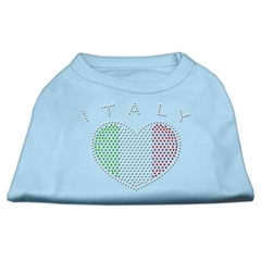 Mirage Pet Products Italy Rhinestone Shirts Baby Blue XL (16)